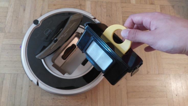 Haier XShuai T370 Saugroboter Staubkammer