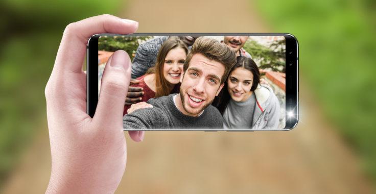 Leagoo S8 Smartphone Frontkamera