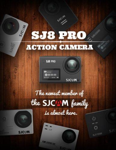 SJCAM SJ8 Facebook Ankündigung