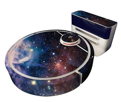 Saugroboter Sticker Weltraum
