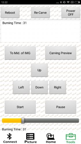 NEJE DK-BL1500 Laser-Engraver Android App