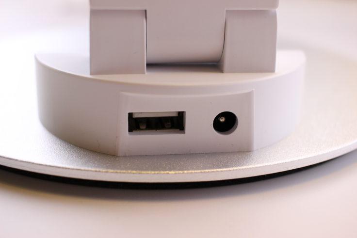 TaoTronics Schreibtischlampe Anschlüsse