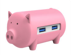 USB Schwein Orico H4018
