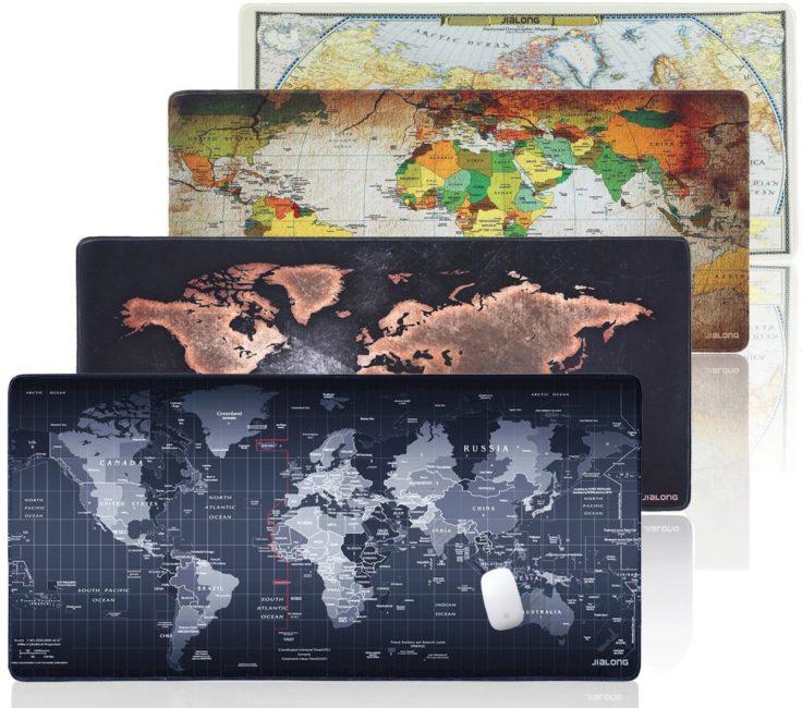 Weltkarte Mousepad