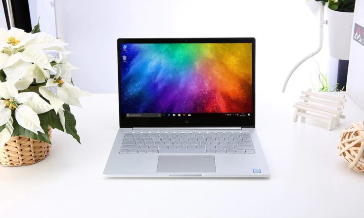Xiaomi Mi Air Notebook Fingerabdruckscanner