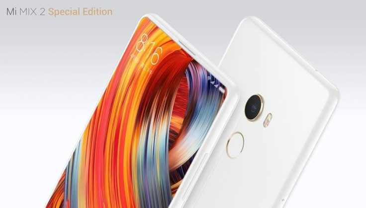 Xiaomi Mi Mix 2 in weiß