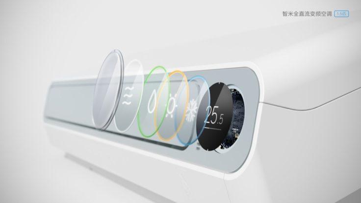 Xiaomi Smartmi Klimaanlage Display