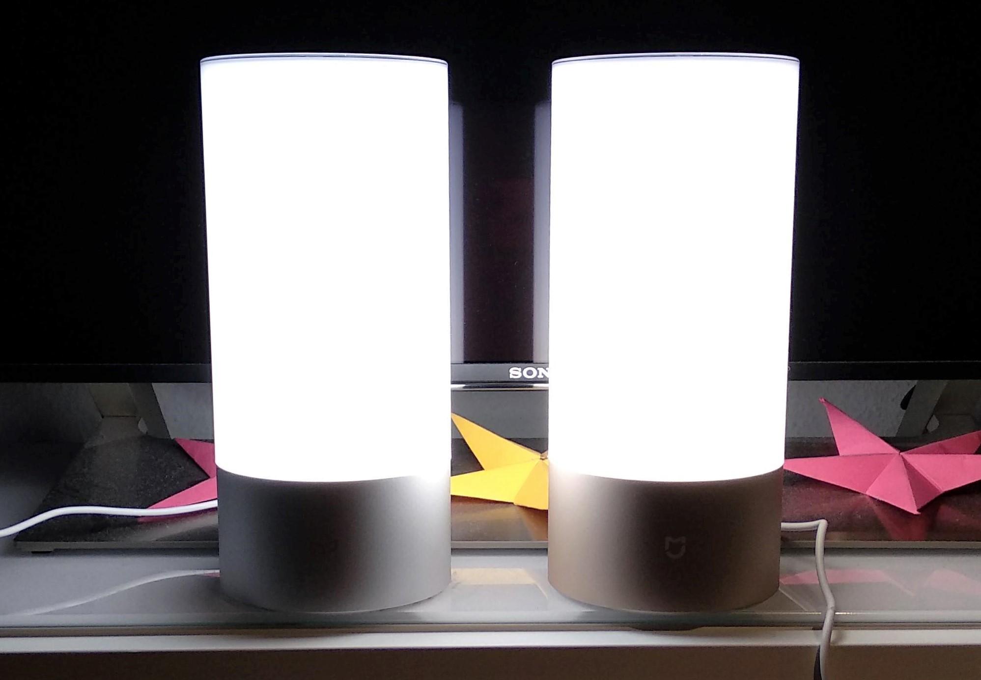 xiaomi yeelight nachttischlampe 2 wlan im test f r 41 03. Black Bedroom Furniture Sets. Home Design Ideas