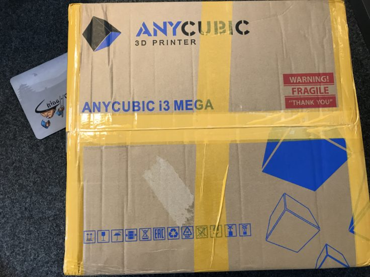 Anycubic Verpackung