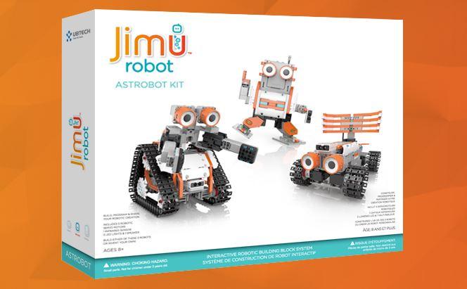 jimu robots test astrobot kit roboter bausatz f r kinder. Black Bedroom Furniture Sets. Home Design Ideas