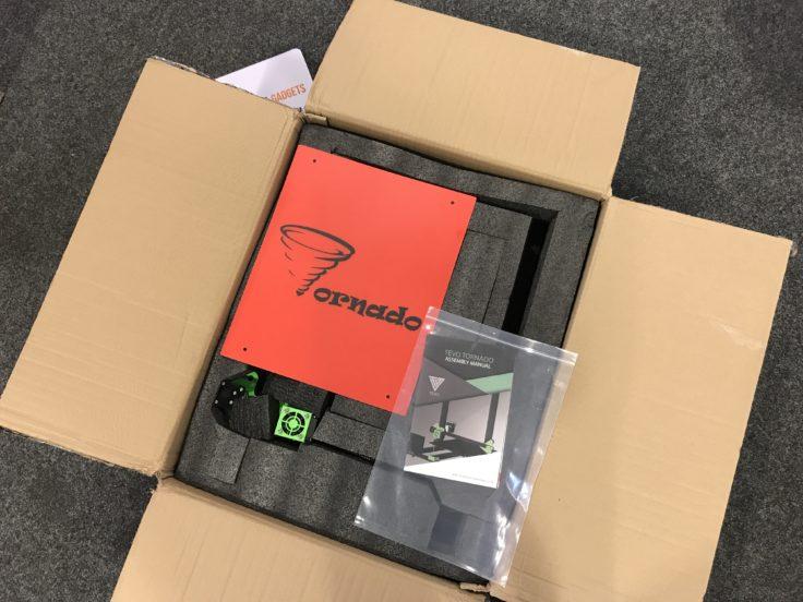 TEVO Tornado Verpackung