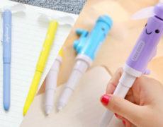 Kugelschreiber mit Ventilator