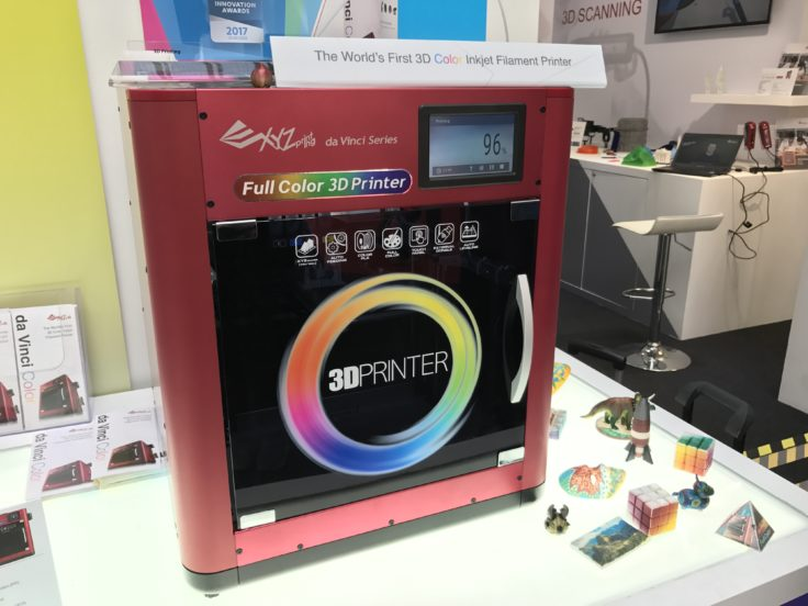 XYZprinting da Vinci Color - 16 Millionen Farben!