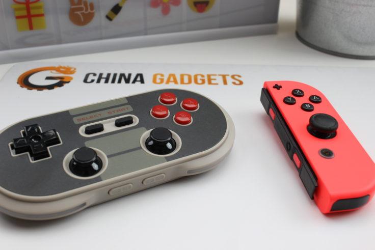 8Bitdo NES30 Pro Bluetooth Controller JoyCon Vergleich