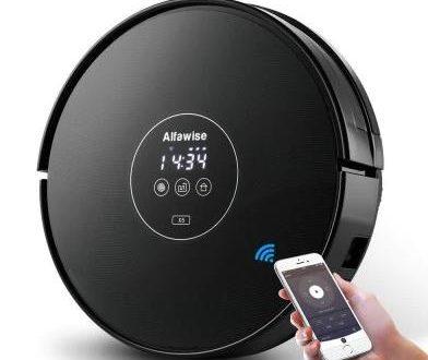 alfawise x5 saugroboter mit wischfunktion und alexa. Black Bedroom Furniture Sets. Home Design Ideas