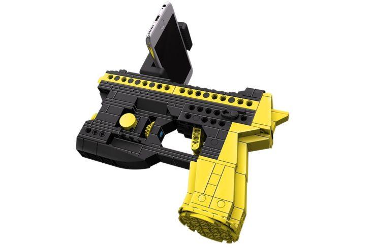 Baustein Pistole Smartphone Halterung