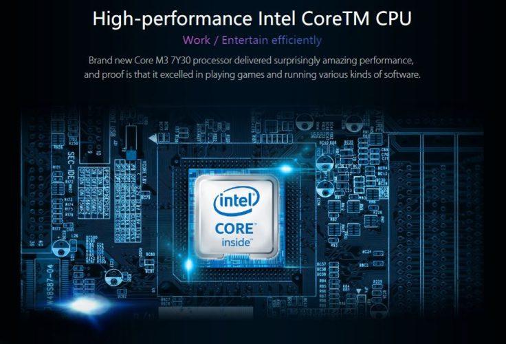 CHUWI Corebook CPU