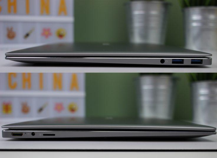 CHUWI LapBook Air Anschlüsse