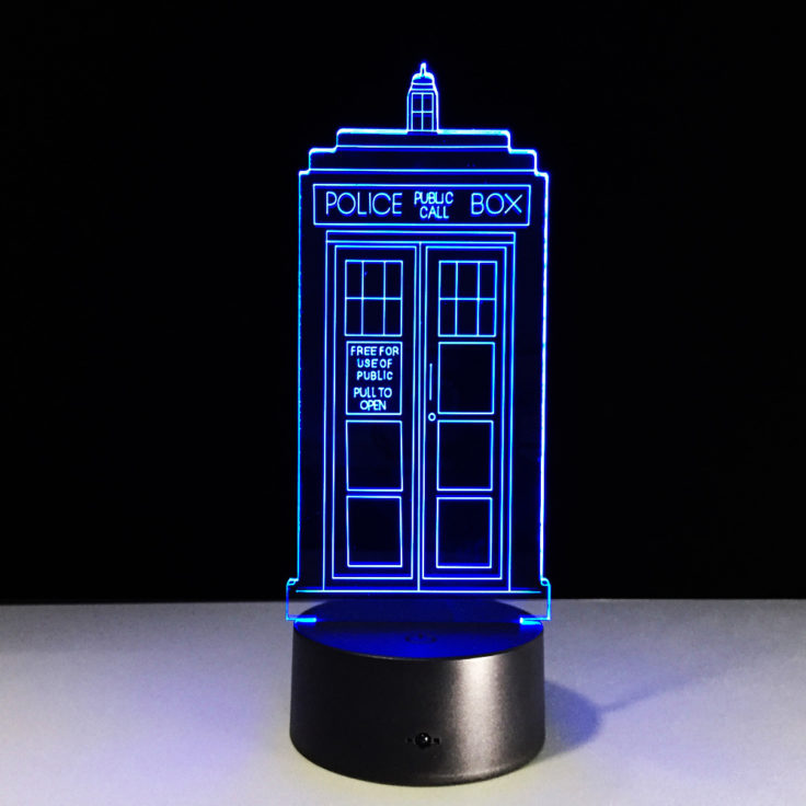 Doctor Who LED Lampe