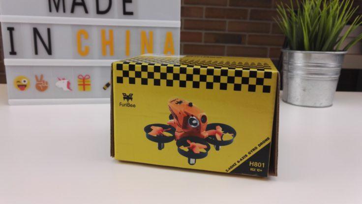 FuriBee H801 Drohne Verpackung