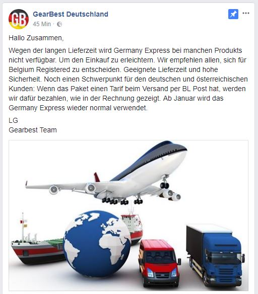 GearBest Germany Express 5.12.