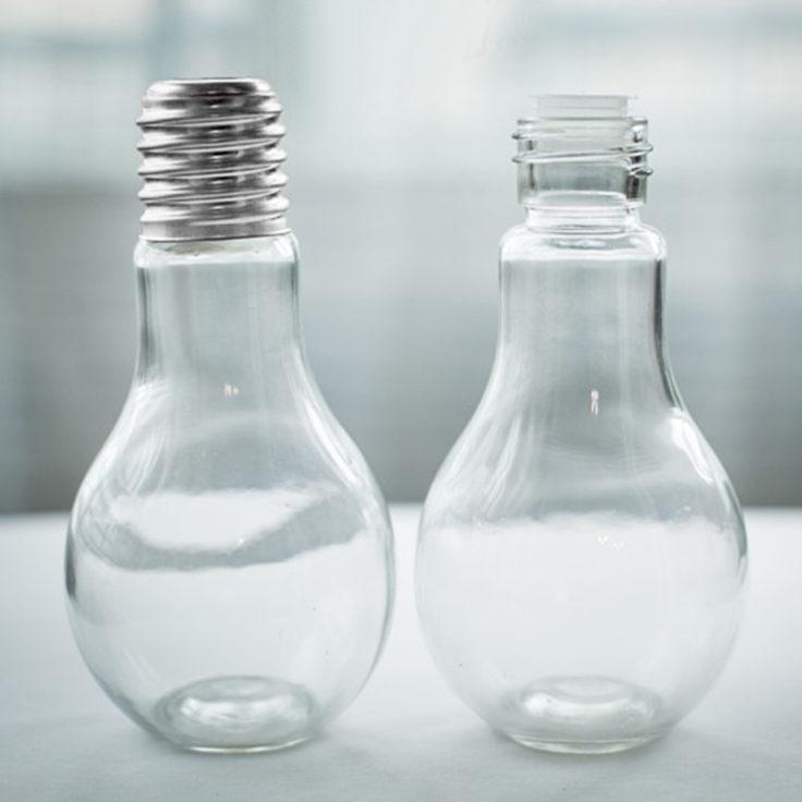 Glühbirnen Trinkglas Verschlusskappe