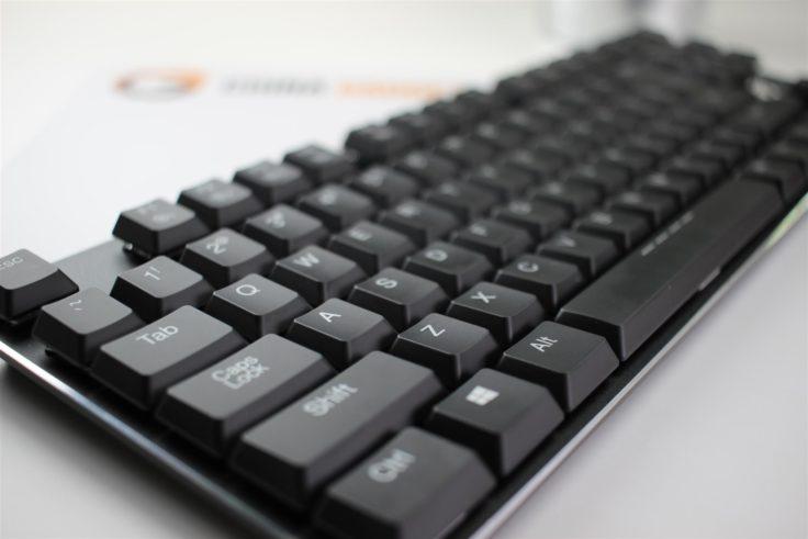 Nahaufnahme der Tastatur