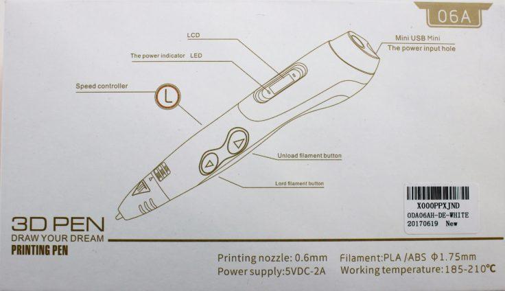 TipEye 3D Stift Design