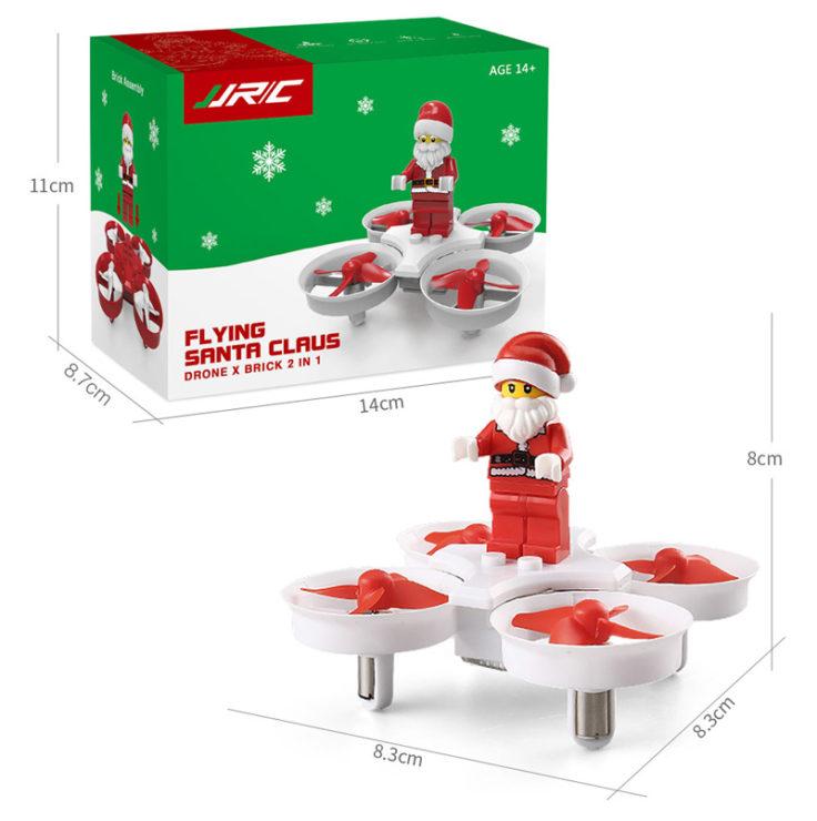JJRC H67 Drohne Weihnachtsmann Verpackung