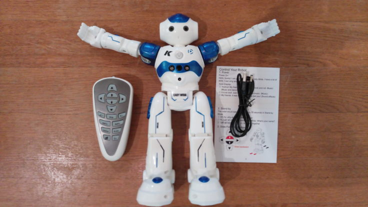 JJRC R2 CADY WIDA Roboter Lieferumfang