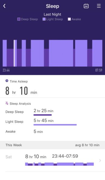 Lifesense Sleep Tracking App