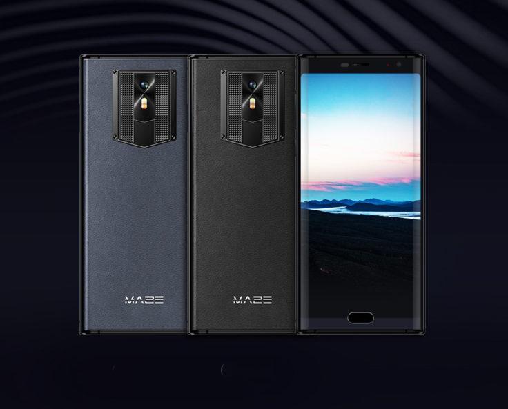 MAZE Comet Smartphone Front- und Rückseite