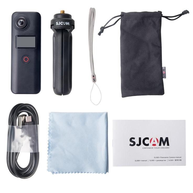 SJCAM SJ360+ Lieferumfang