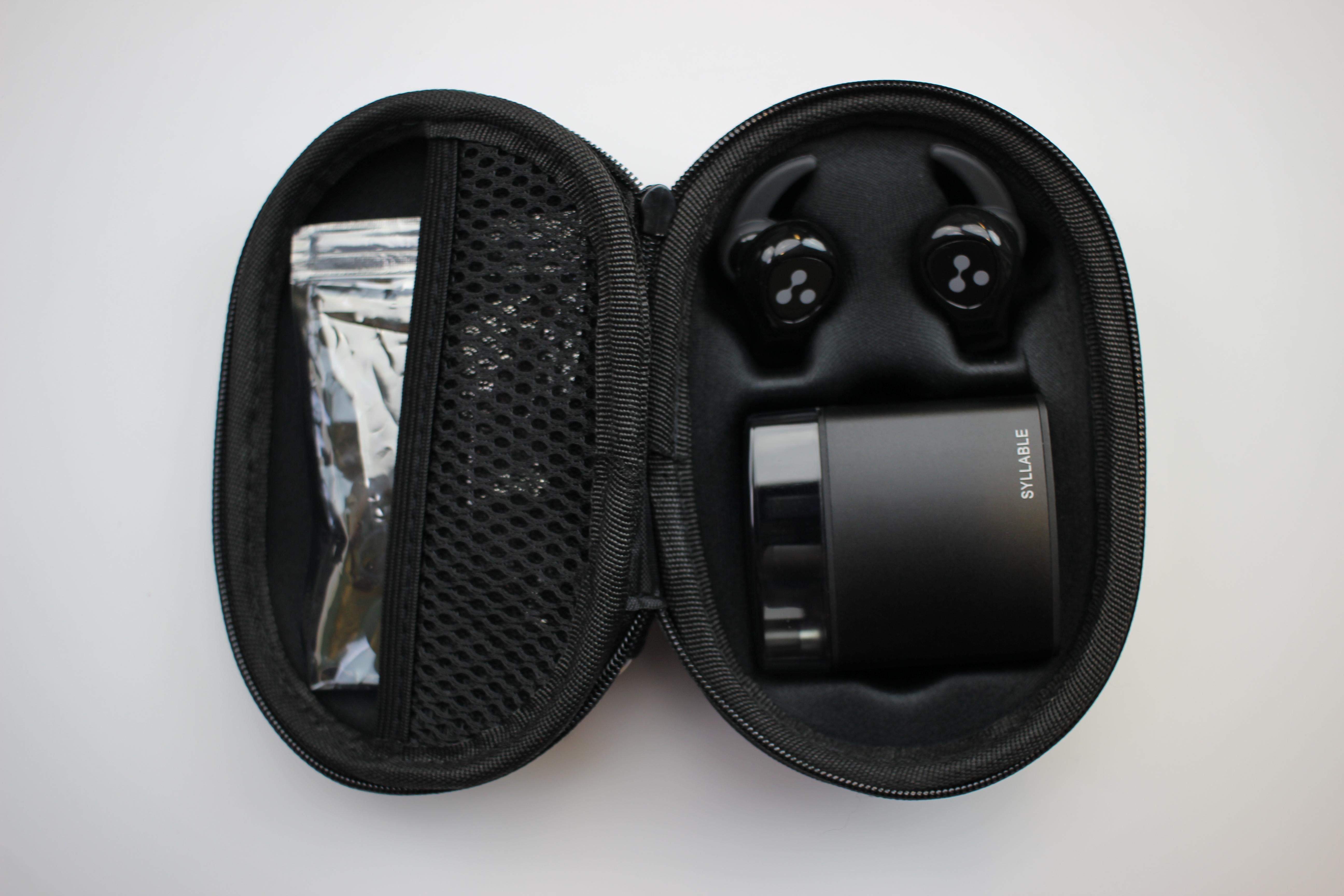 syllable d9x wireless in ear kopfh rer mit wechselbaren akkus. Black Bedroom Furniture Sets. Home Design Ideas