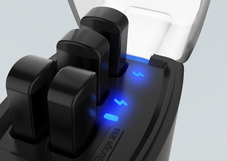 Syllable D9X Wireless In-Ear Ladebox