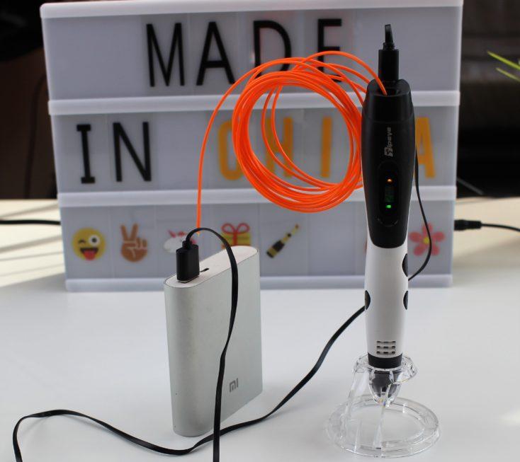 TipEye 3D Stift Powerbank