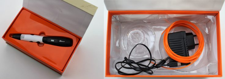 TipEye 3D Stift Powerbank Verpackung