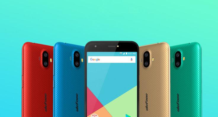 Ulefone S7 Smartphone Farben