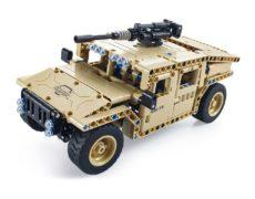 Utoghter RC Militär Fahrzeug Bausteine Braun