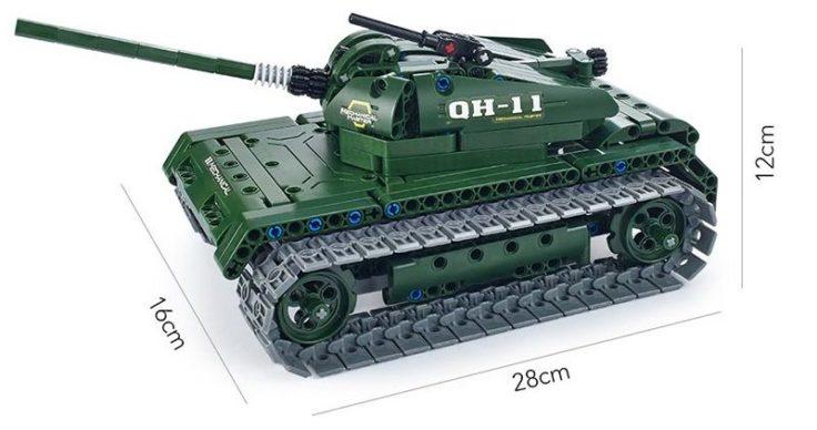 Utoghter RC Militär Fahrzeug Bausteine Grün
