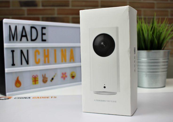 Xiaomi Dafang Überwachungskamera Verpackung