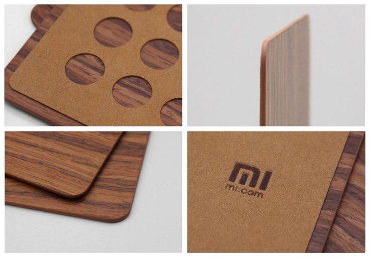 Xiaomi Mauspad Holz Details