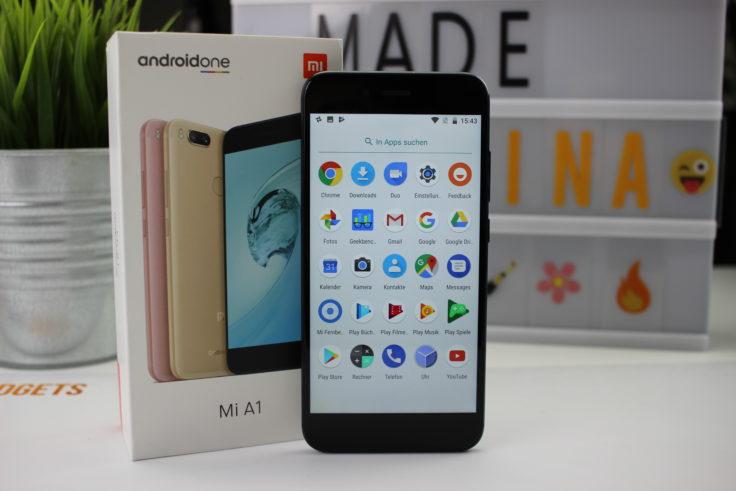 Xiaomi Mi A1 Smartphone Verpackung