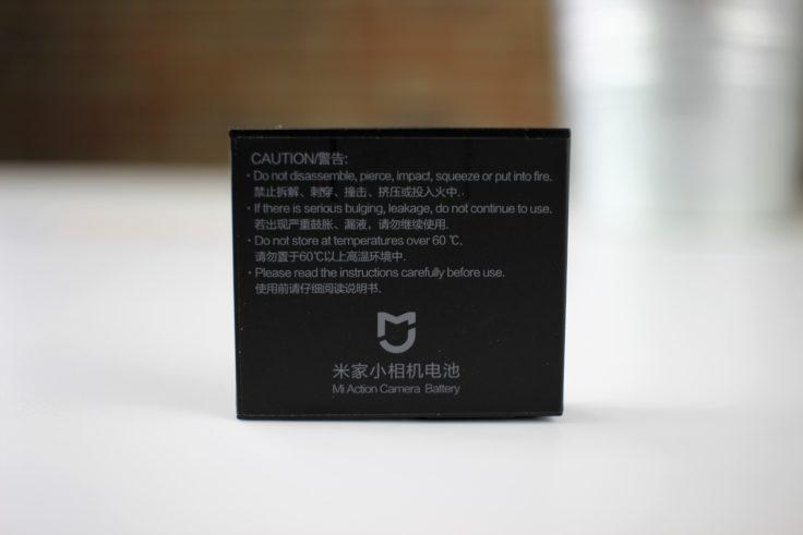 Xiaomi Mi Action Camera 4K Akku