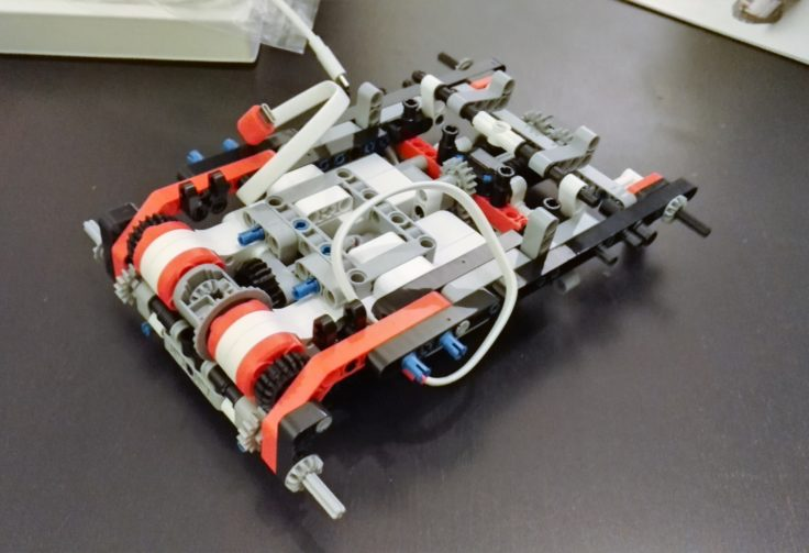 Xiaomi Mitu DIY Roboter Bausatz Aufbau Fortschritt