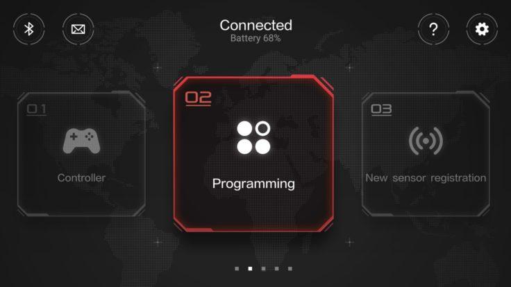 Xiaomi Mitu Rover App Hauptmenü