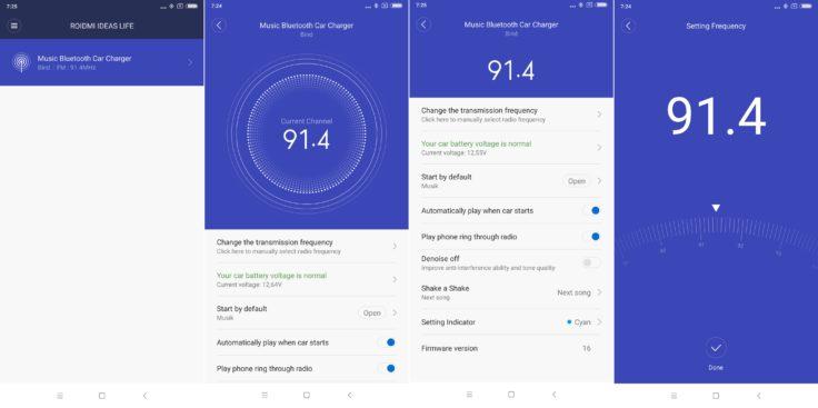 Xiaomi ROIDMI Android App