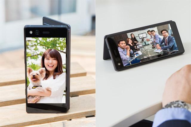 ZTE Axon M Smartphone Display Modus