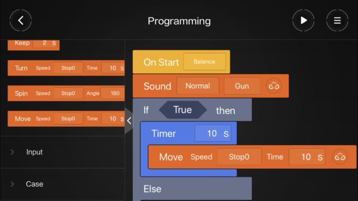 programmierung mitu