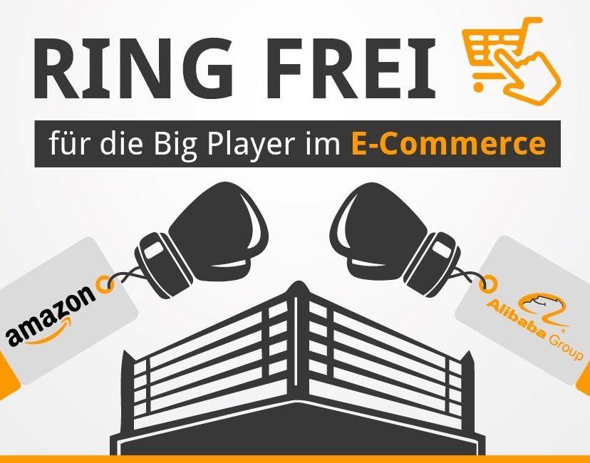 Infografik Amazon Vs Alibaba E Commerce Riesen Im Vergleich